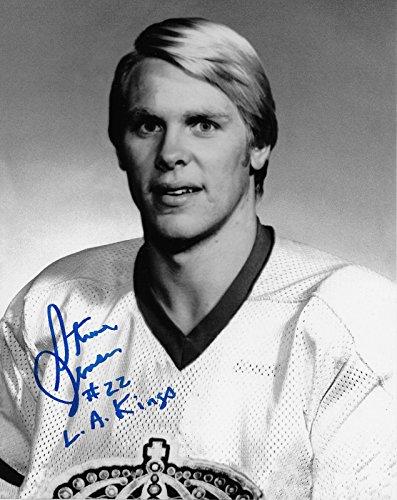 - Autographed Steve Jensen Photo - 8x10 - Autographed NHL Photos