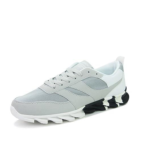Para hombre Casual Deportes Calzado deportivo ligero tela transpirable zapatos  de mujer a40e7d704e50