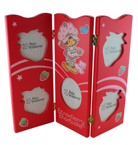 Photo Shortcake Strawberry - Red Strawberry Shortcake Picture Frame - Girls Picture Frames