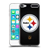 Official NFL Football Pittsburgh Steelers Logo Soft Gel Case for Apple iPod Touch 6G 6th Gen