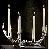 KINDWER 14 Point Antler Candle Holder