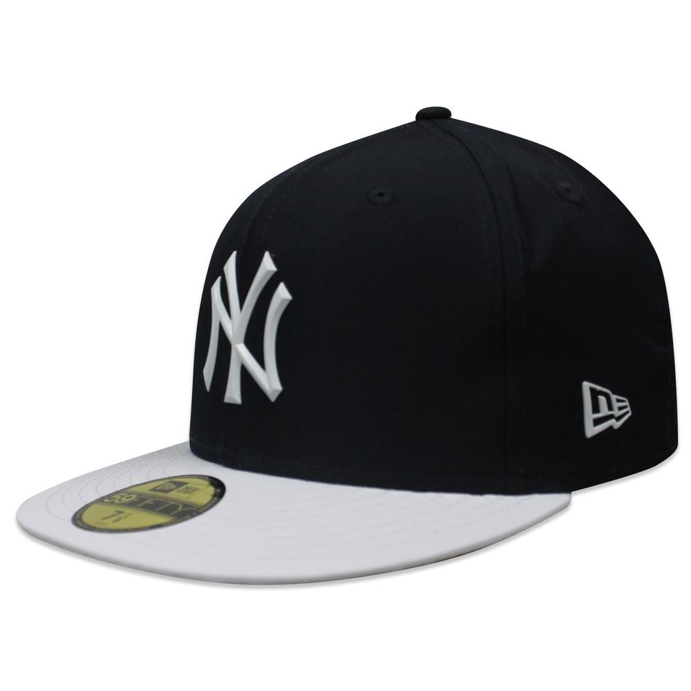 Amazon.com   New York Yankees New Era 2018 On-Field Prolight Batting  Practice 59FIFTY Fitted Hat - Navy White (7 3 4)   Sports   Outdoors 2067da8a2749