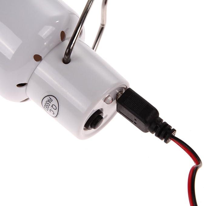 LED Lámpara Solar Bombilla de Demiawaking Voltage 0.8W/5V con Batería 750ma / 3.7v Iluminación Exterior con Panel Solar Bombilla de Bajo Consumo para ...