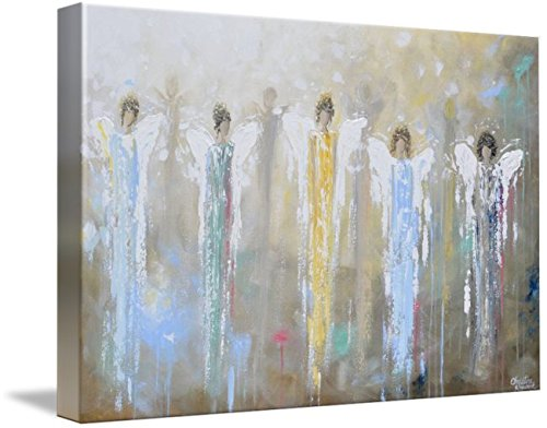 Wall Art Print entitled Angels Whispering Among Us by Christine Krainock | 48 x 32 by Imagekind