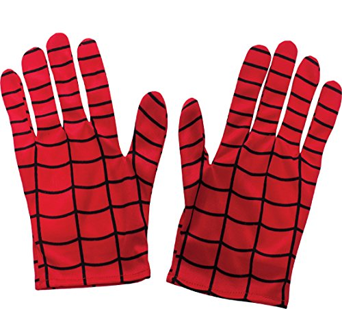 Rubie's Costume Men's Marvel Universe Adult Spider-man Gloves, Multi, One Size