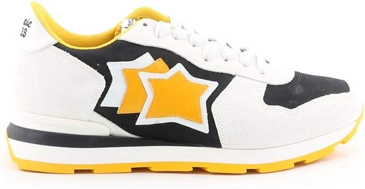 Luxury Fashion | Atlantic Stars Hombre ANTARESBNY12B Blanco Zapatillas | Temporada Outlet: Amazon.es: Zapatos y complementos