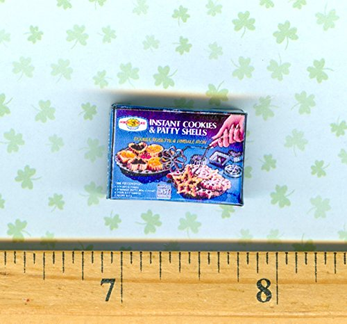 Plastic Timbale - DOLLHOUSE Miniature Size Rosette Iron Timbale Patty Shell Maker Box - My Mini Fairy Garden Dollhouse Accessories for Outdoor or House Decor