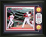 "MLB Boston Red Sox David Ortiz ""Final Opening Day"" Coin Photo Mint, 18"" x 14"" x 3"", Bronze"