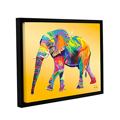 (Linzi Lynn's The Ride, Gallery Wrapped Floater-Framed canvas 18x24)
