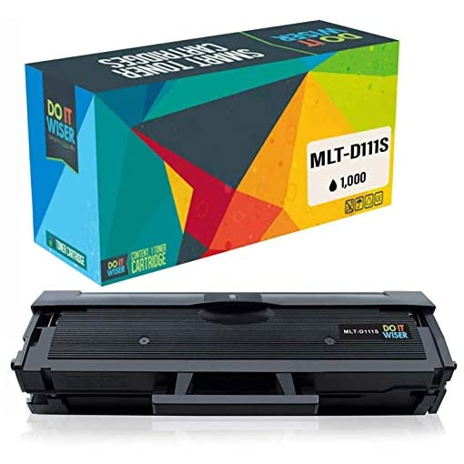 Do it wiser Compatible Toner Cartridge Replacement for Samsung Xpress MLT-D111S MLTD111S SL-M2026 SL-M2026W SL-M2070 SL-M2070W M2070FW M2020 M2020W M2022 M2022W M2078W M2070F (Black)