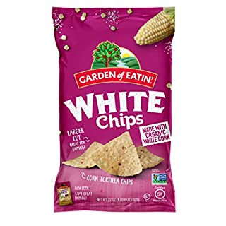 Garden of Eatin' White Corn Tortilla Chips, 22 oz. (Pack of 10) (Packaging May Vary)