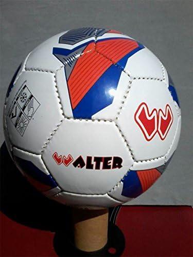 walter Balón de fútbol profesional de Europa,/white/royal/orange ...