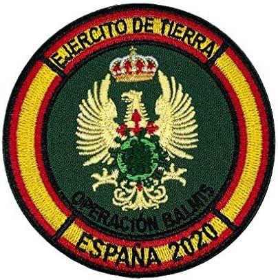 Parche Hook and Loop Operacion Balmis 2020 Ejercito de Tierra 8cm: Amazon.es: Hogar