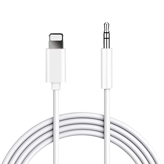 sale retailer 92489 19922 Aux Cord for iPhone 3.5mm Compatible with iPhone Xr/Xs MAX /8Plus/7 Plus  6/6Plus iPod/iPad Adapter Cable to Car/Home Stereo/Headphone/Car ...