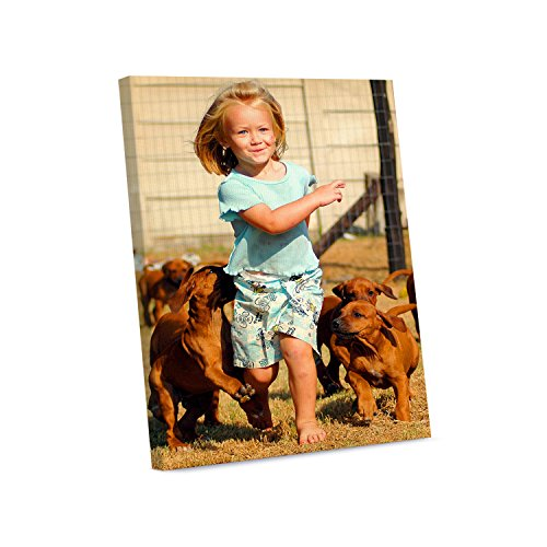 Picture Wall Art Your Photo on Custom Canvas Gallery Wrapped 20 x 24 Vertical Print Stretched Over Wooden Frame