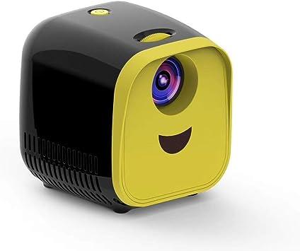 Opinión sobre YANTAIAN Proyectores LED L1 Proyector for niños Mini Mini LED Proyector de Altavoz portátil for el hogar (Color : Black)