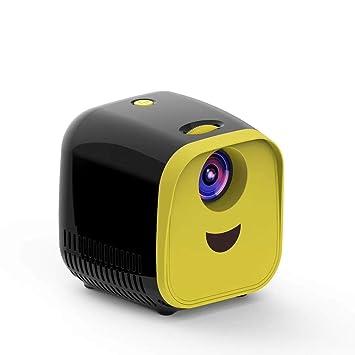 Cxky Proyector, proyector de niños Mini Mini LED Altavoz portátil ...