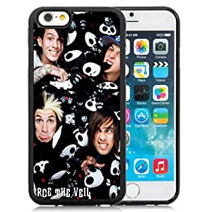 Iphone 6 Case,Personalized Design Music Band Of Pierce The Veil 17 Cell Phone TPU Cover Case for Iphone 6 Generation 4.7 Inch in Black by ruishername