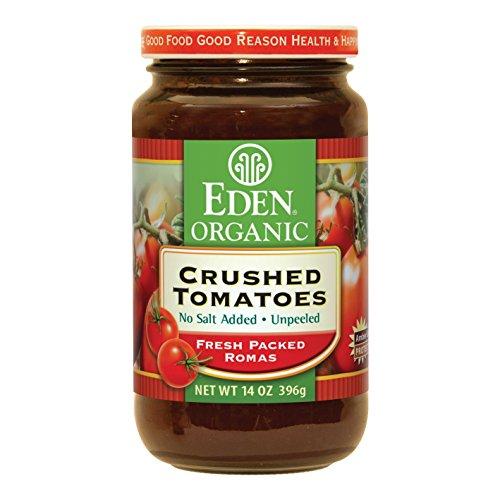 Tomatoes, 100% Organic, Crushd, Glas, 14 oz (pack of 12 )