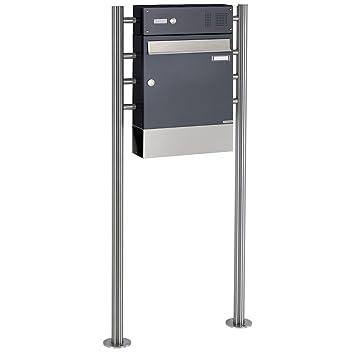 1er Briefkasten, freistehend Design BASIC 381-7016-ZF ...