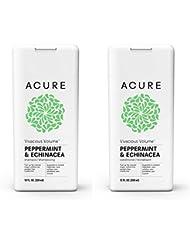 Acure Vivacious Volume Peppermint & Echinacea 12 Fluid Ounces (Variety Pack)