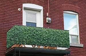 myfence con diseño de visión: Henry Como Protector para balcones en el tamaño 1000cm x 120cm como Balcón Revestimiento de rejilla Red Pantalla
