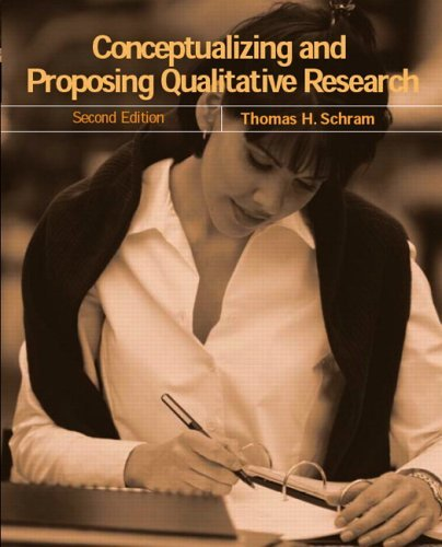 Download Conceptualizing and Proposing Qualitative Research:2nd (Second) edition PDF