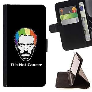 For Sony Xperia Z1 L39 Case , Su no cáncer de Casa- la tarjeta de Crédito Slots PU Funda de cuero Monedero caso cubierta de piel
