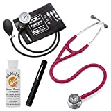 3M Littmann Cardiology Iv™ Stethoscope With Adc® Prosphyg 760 Aneroid Sphygmomanometer Adlite Plus™ Disposable Penlight