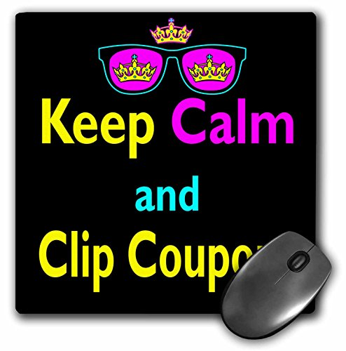 3drose CMYK Keep Calm Parody Hipster Crown and Sunglasses Keep Calm and Clip Coupons - Mouse - Glasses.com Coupons
