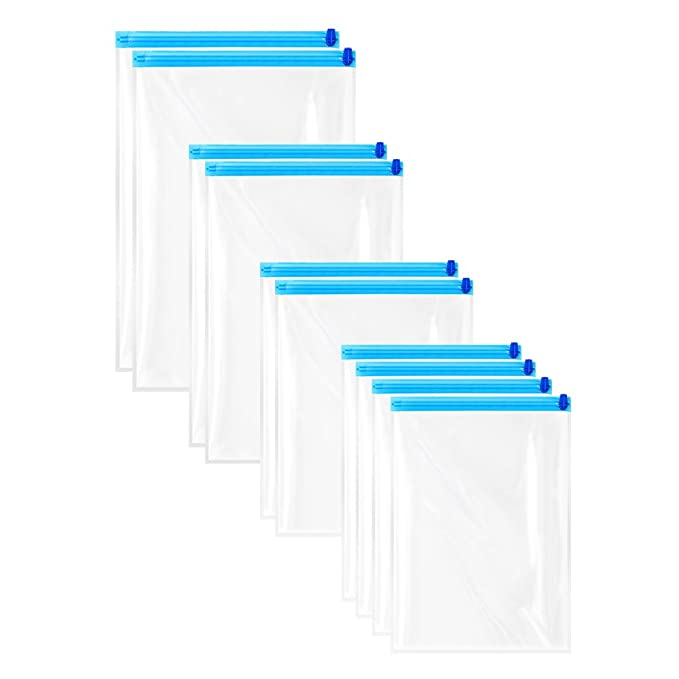 Vacío Bolsa Viaje 10 bolsa bolsa de compresión para ropa ...