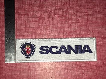 8,5/x 8/cm Marel r/éplica-1216 dise/ño de Saab Scania Parche termoadhesivo bordado