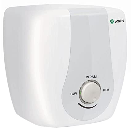AO Smith HSE-SAS-015 15-Litre 2000-Watt Vertical Water Heater (White)