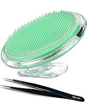Silky Skin Peeling Body borstel voor de behandeling en preventie van scheerapparaat, deuken en ingegroeide haren voor mannen en vrouwen, flexibele borstelborstel om irritatie van het gezicht te elimineren