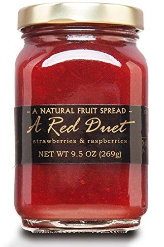 Jam Fruit Mountain - MOUNTAIN FRUIT COMPANY A Red Duet Jam, 9.5 OZ