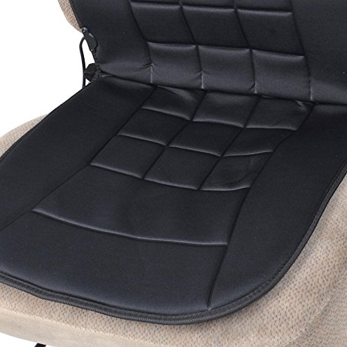 bdk travel warmer pair 2 heated seat cushions covers 12 volt padded thermal release buy. Black Bedroom Furniture Sets. Home Design Ideas