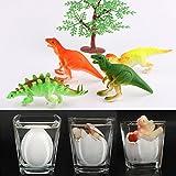 YKL World Emulational Dinosaur Dragon Hatch-grow Eggs Large Big Size Pack of 4pcs