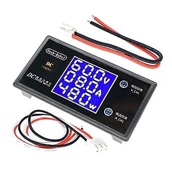 DC 200V 100A Voltmeter Ammeter LCD Digital Amp Volt tester meter 12V//24V CAR