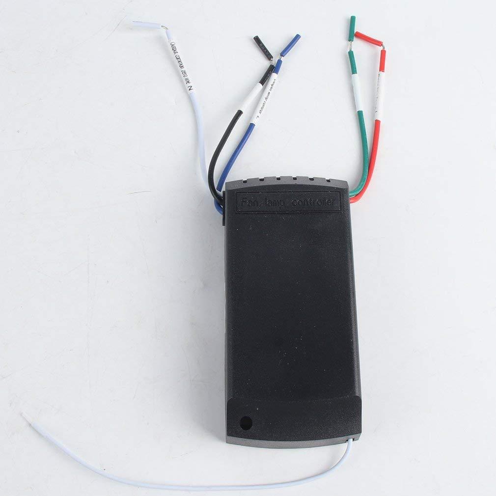 110-240 V Lampada per Ventilatore a soffitto Telecomando Kit Timing Interruttore di Comando Wireless
