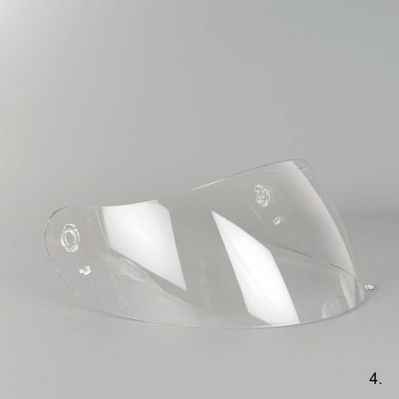 Visi/ère AGV K3/K4/K4/EVO Street 8/Transparent claire K-3/K-4
