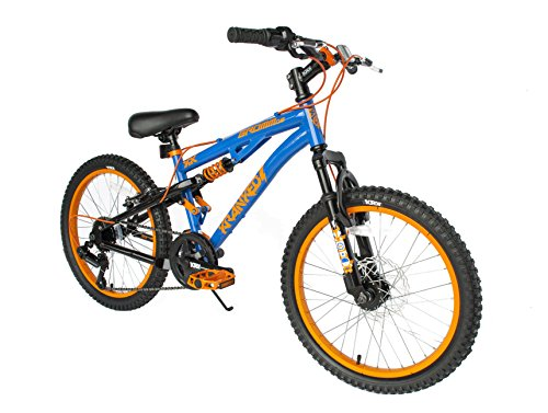 """Kranked Gromm 20"""" Dual Suspension Mountain, 14""""/One Size"""