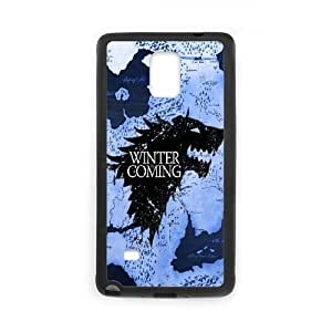 Samsung Galaxy Note 4 Phone Case Black Game of Throne CG6012163