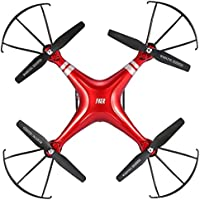 2.4GHz Mini RC Drone with 2MP HD Camera, Remote Phone Control Helicopter Drone(Red)