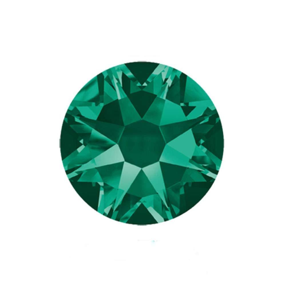 PENVEAT 2088 Facetas Cortadas SS16 Aguamarina SS30 Sin Diamantes de imitaci/ón hotfix 8 Grandes 8 Piedras de decoraci/ón de Diamantes de imitaci/ón de Cristal Plano peque/ño ss16 1440 Piezas SS20
