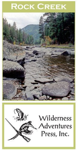 Rock Creek 11x17 Fly Fishing Map