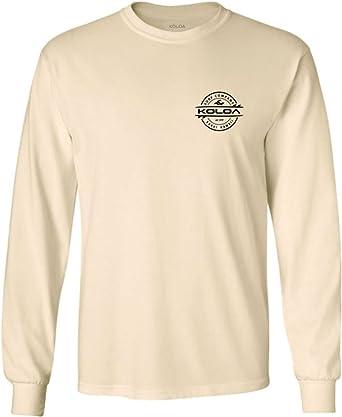 Tall Long Sleeve Cotton T-Shirt-LT-Charcoal Joes USA