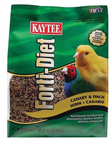 CANARY/FINCH FOOD FD 2LB by KAYTEE MfrPartNo 100509746 -