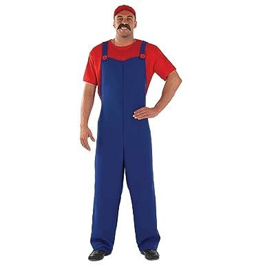 Amazon.com: Disfraz de Mario Brothers Luigi & Wario para ...