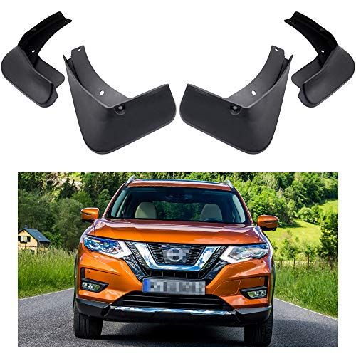 MOERTIFEI Car Mudguard Fender Mud Flaps Splash Guard Kit fit for Nissan Rogue 2014-2019 15 16 17 18