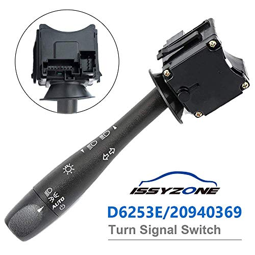 Malibu Switch - Turn Signal Switch for Chevy Malibu Pontiac G6 Headlamp Dimmer Switch D6253E